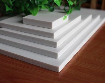 White Rubber Block - DIY Rubber Stamp - Stamp Rubber - Stamp Carving - 15cm x 10cm - MR010 - MR004