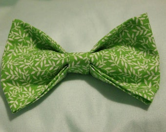 Bamboo Forest   Pet Bow tie