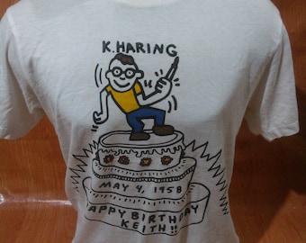 Vintage Keith Haring Tshirts Vintage Keith Haring Tee
