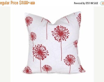 15% Off Sale Coral Pillow Decorative Pillows , Modern Coral Pillow - Throw Pillow cover - Coral Pillows for Bed - Couch pillow - Accent hous