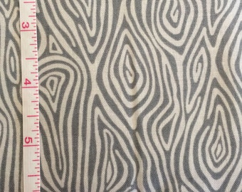 Woodgrain on Steel from the Burly Beavers Collection by Andie Hanna for Robert Kaufman Fabrics