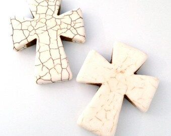 5 X 50mm or 5cm❤ stone cross ❤