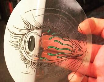 STICKER Blood Snake Eye