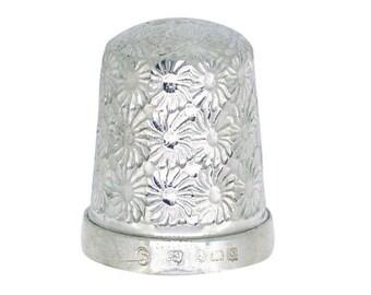 Antique Silver Thimble