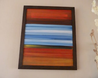 Abstract, limited edition prints available of original
