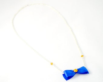 Celestial Guardian Bow Necklace