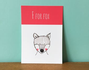 F For Fox A6 card