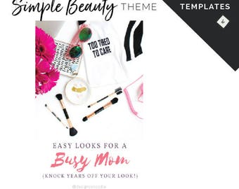 Canva Templates for Beauty Business Social Media Designs