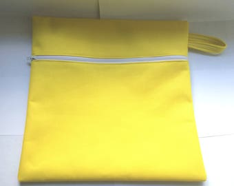 Waterproof Wet Dry Bag for Diapers, Swimsuit, Gym Clothes, Dog Poop Bags, holds all liquids and smells inside SHIPS FREE