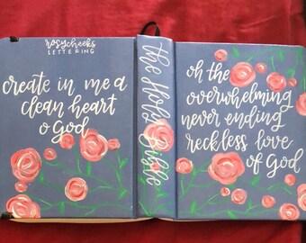 Semi custom ESV Journaling Bible