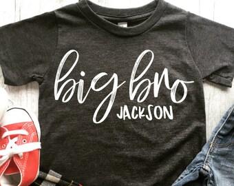 Big brother shirt   Big brother t-shirt   Promoted to big brother   Brother shirt