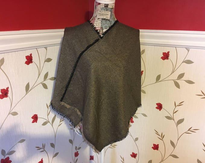 Irish Shawl - Celtic Wrap - Stole - 100% Irish Wool