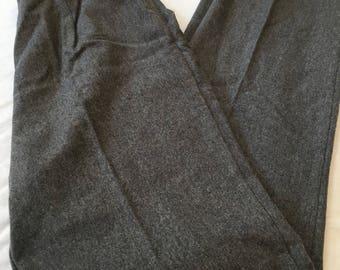 Vintage 80s Wool Pants