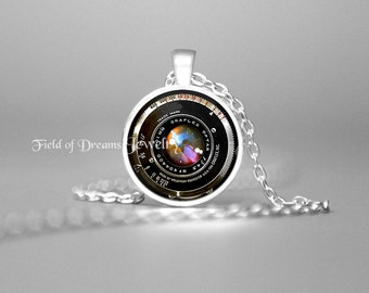 GIFTS FOR PHOTOGRAPHERS Pendant Graflex Lens Pendant Camera Lens Necklace Gifts for Photographers Photography Not an Actual Lens 25mm Gift