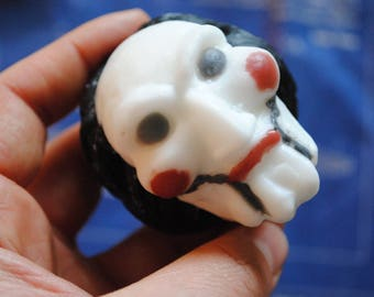 Handmade Large 3D Billy the Puppet Soap – Zombie, Christmas gift, stocking gift, Novelty