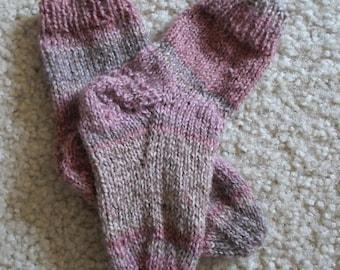 Socks for Toddler - Handknitted Socks  - 2-4 Years  US Children
