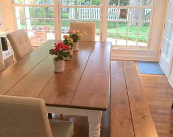 Rustic Dining Table Farm Table Rustic Table Portland