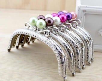 3pcs. 12.5cm purse frame purse clasp clutch frame metal purse frame purse making supplies wholesale(YX)