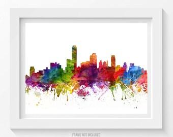 Adelaide Poster, Adelaide Skyline, Adelaide Cityscape, Adelaide Print, Adelaide Art, Adelaide Decor, Home Decor, Gift Idea 06
