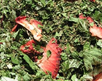 Tisane Estivale bio 35g, thé glacé pour l'été/ Summer orgnanic herbal tea 35g, iced tea