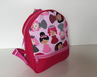 Backpack (M) 'Little Queens'