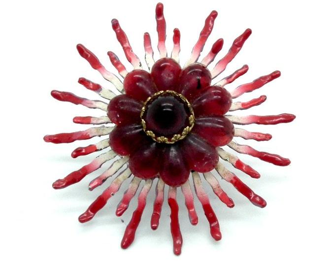 Women's ring handmade gift for women, red ring gift-for her,