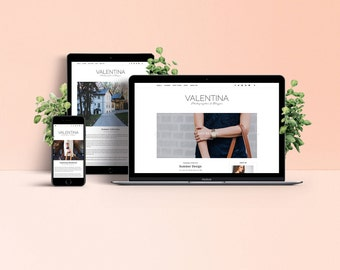 Valentina WordPress Theme - Responsive Blog & Magazine Template