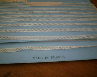 Antique French lace doll lace french origin 1800  tiny wholesale cotton