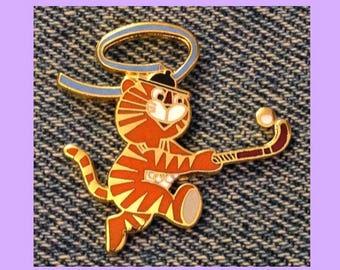 Field Hockey Olympic Pin ~1988 Seoul ~ Mascot ~ Hodori the Tiger~ by HoHo NYC