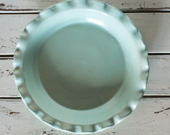 Green Pie Plate