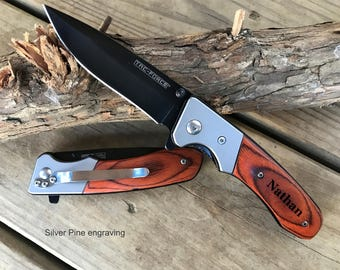 Father's Day Gift Boyfriend Gift Custom Pocket Knife Engraved Gift Personalized For Him Husband Gift Husband Gift Unique Gifts Uncle Gift