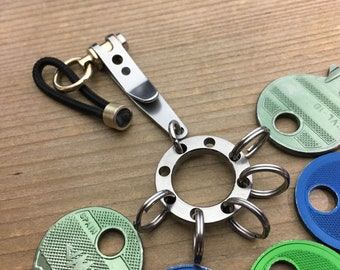 Suspension Clip Key Ring distributor / Polished