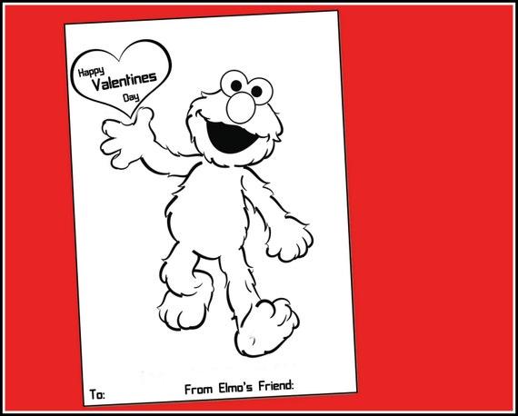 Herunterladbare Elmo Valentines sofort-Download preiswerte