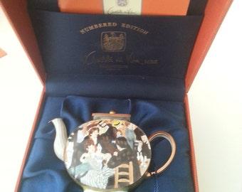 Miniature Teapot Charlotte diVita Ball at the Moulin De La Galette