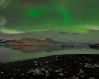 The Aurora Borealis Taken in Iceland