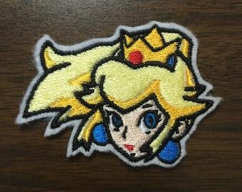 Princess Peach -- Iron-on Nintendo patch