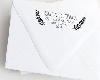Leafy Address Stamp