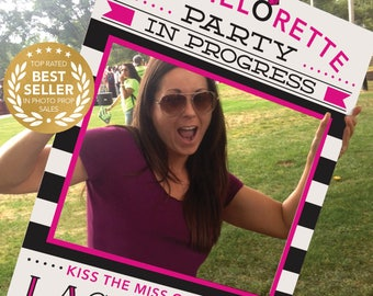Bachelorette Party Photo Prop - Easy Printable PDF - 24x36 Photo Prop File - Printed Option NOW Available - Creative Union Design