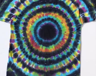 XL, Tie Dye, T shirt, Colorful, Hippie, Boho, One of a kind