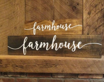 Large farmhouse sign, farmhouse decor, farmhouse wall decor, rustic sign, rustic wall decor, wood sign, farmhouse sign, housewarming gift