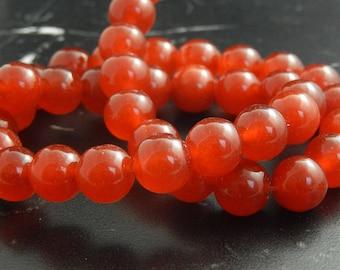 red ocean Jade 10mm ref 126 10 beads