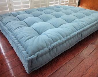 Custom Cushions Velvet Daybed Mattress French