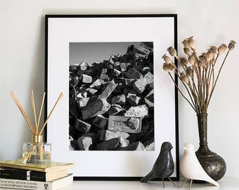 Bricks, Photographic Print, 5x7, 8x10