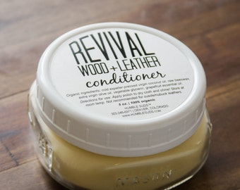 Revival™ Wood + Leather Conditioner