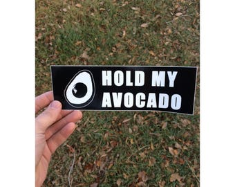 Hashtag Hold My Avocado sticker pack