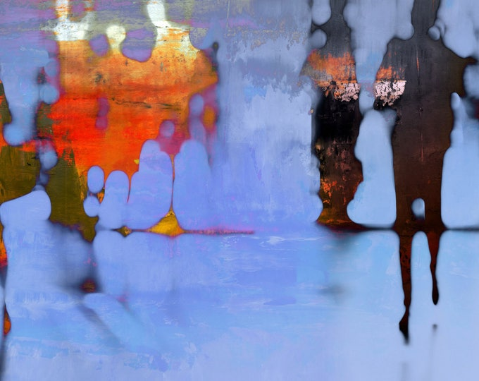 BURMA BLUR XXII by Sven Pfrommer - Artwork is ready to hang