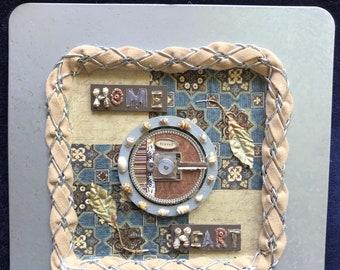 Home Heart Decorative Plate