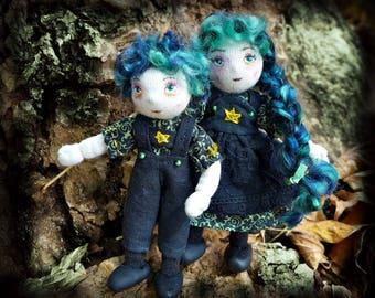 The Witch's Children Damien and Drusilla