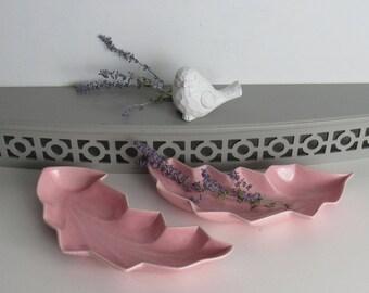 millennial pink - vintage home decor - Vintage  Art Pottery / USA / mad men decor
