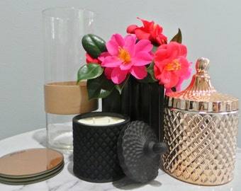 Geo Small Range - Natural Soy Wax - Container Candle